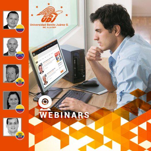 Abierto Nuevo Ciclo de Webinars UBJ (Conferencias gratuitas y certificadas)