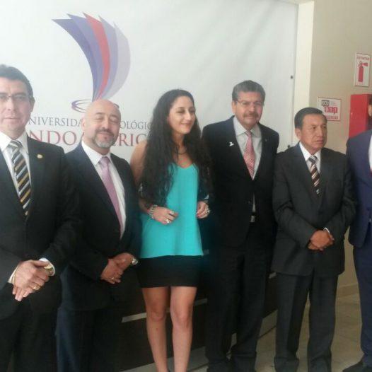 Universidad Indoamérica firma convenio con la Universidad Benito Juárez